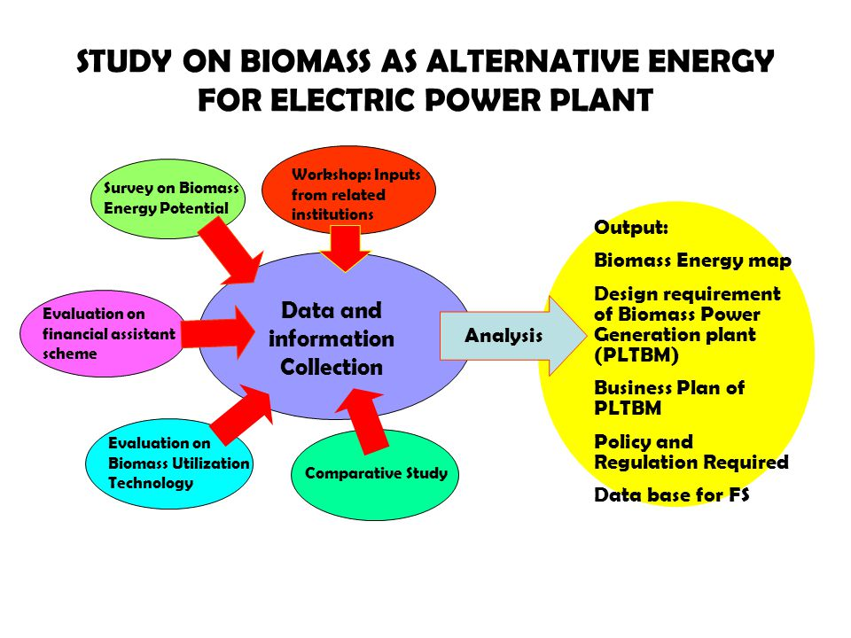 STUDY ON BIOMASS AS ALTERNATIVE ENERGY FOR ELECTRIC POWER PLANT
