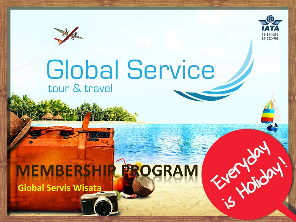 Membership Program Global Servis Wisata