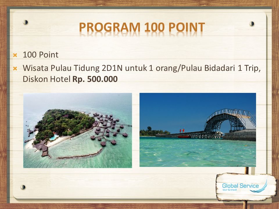 Program 100 Point 100 Point.