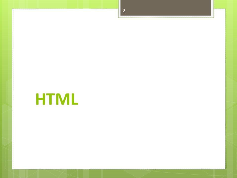 HTML I Nyoman Suta Darmayasa, S.Kom.