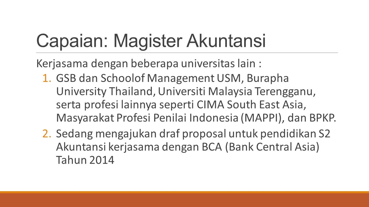 Capaian: Magister Akuntansi