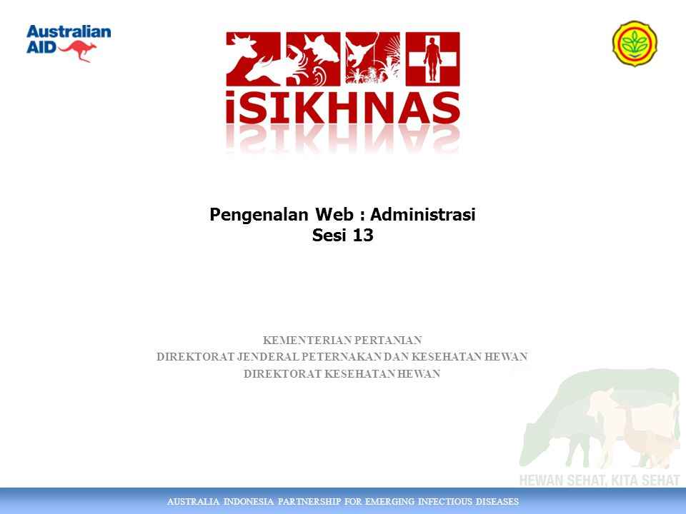 Pengenalan Web : Administrasi Sesi 13