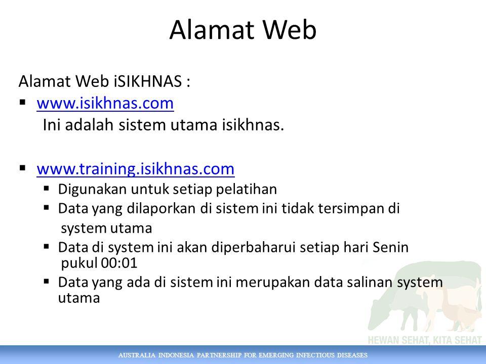 Alamat Web Alamat Web iSIKHNAS : www.isikhnas.com