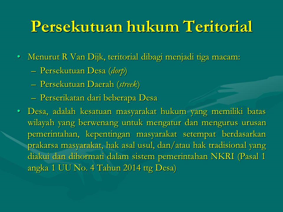 Persekutuan hukum Teritorial