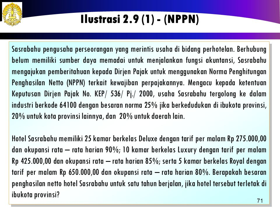 Ilustrasi 2.9 (1) - (NPPN)