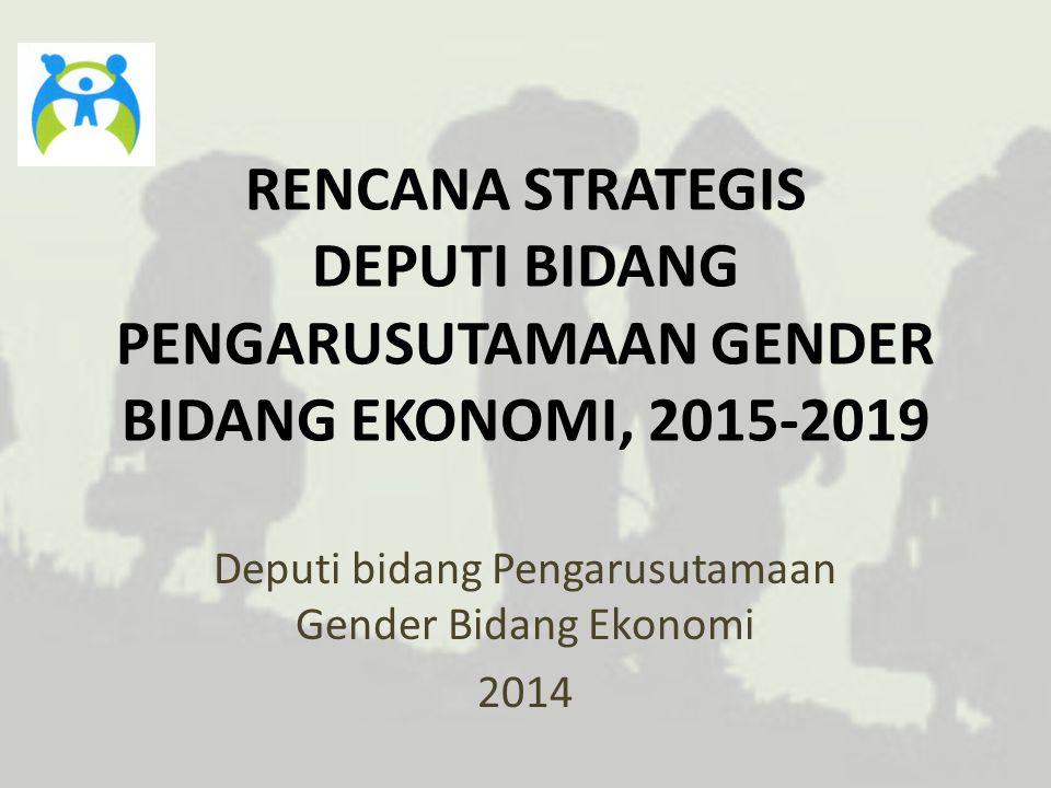 Deputi bidang Pengarusutamaan Gender Bidang Ekonomi 2014