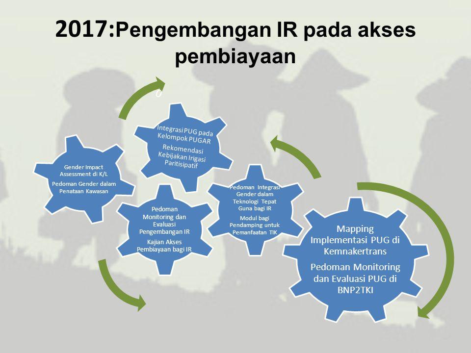 2017:Pengembangan IR pada akses pembiayaan