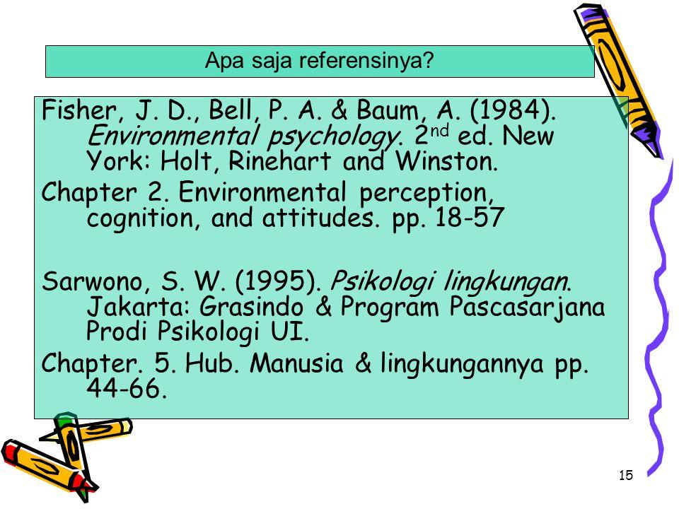 Chapter. 5. Hub. Manusia & lingkungannya pp. 44-66.