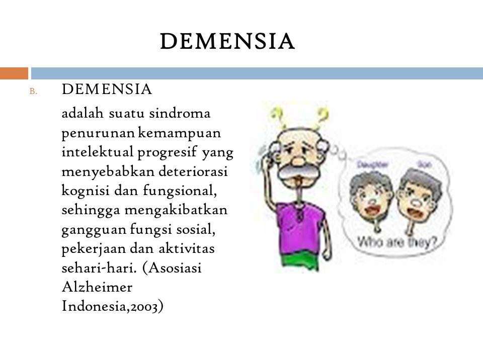 DEMENSIA DEMENSIA.