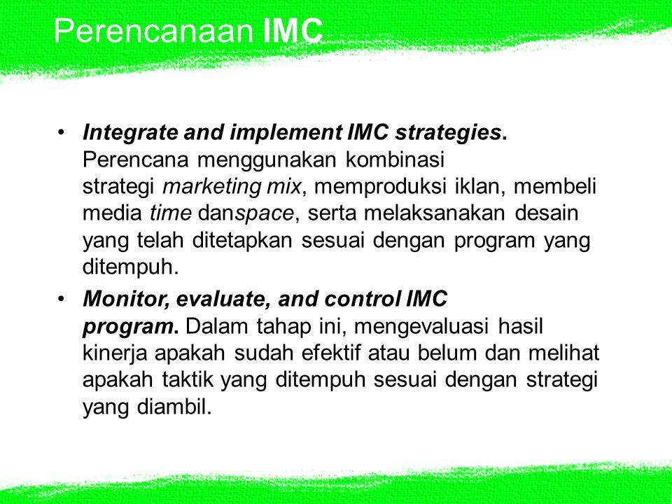 Perencanaan IMC