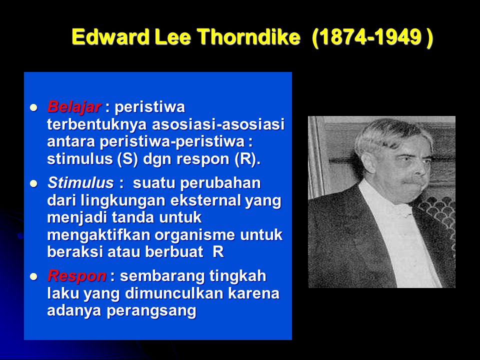 Edward Lee Thorndike (1874-1949 )