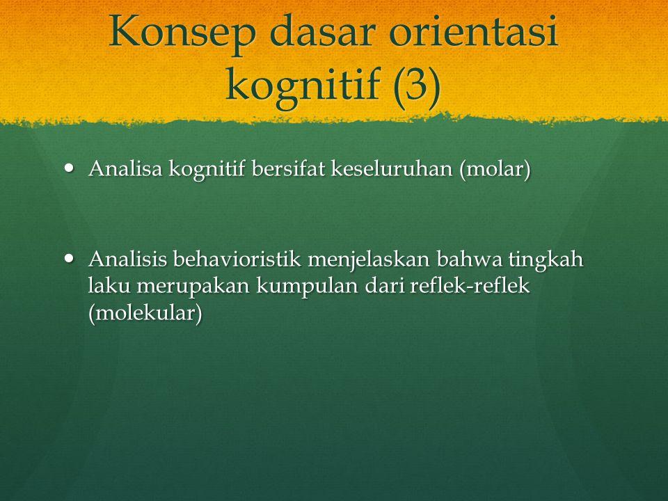 Konsep dasar orientasi kognitif (3)