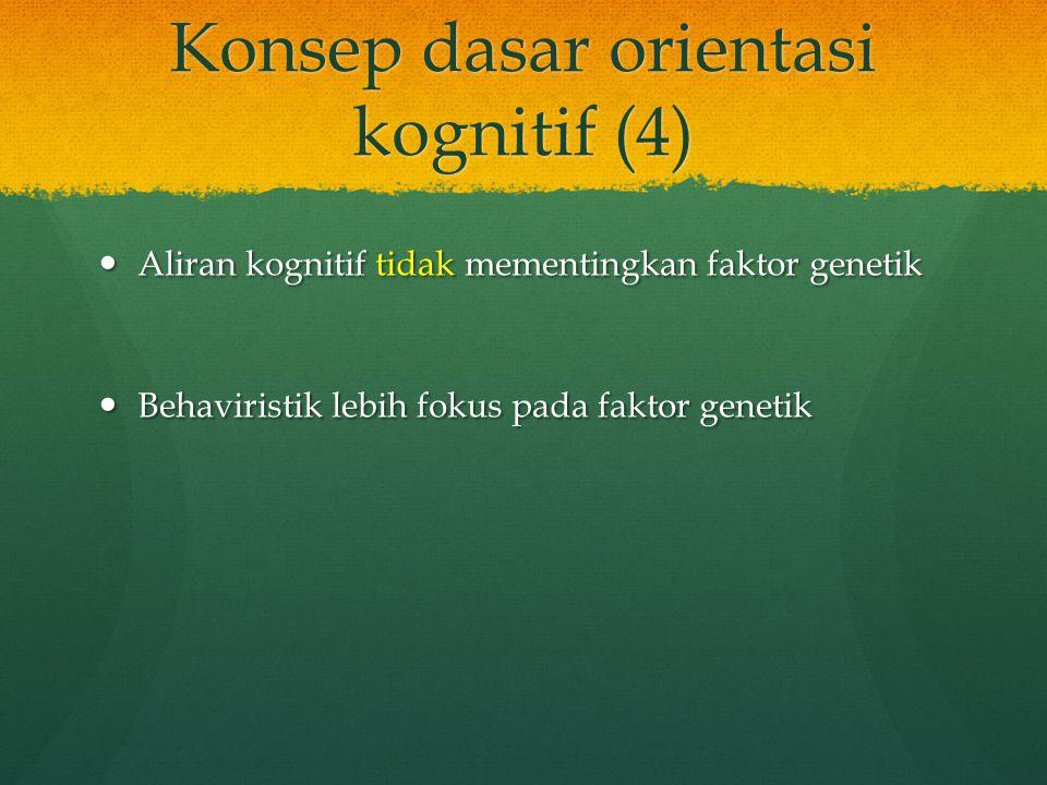 Konsep dasar orientasi kognitif (4)