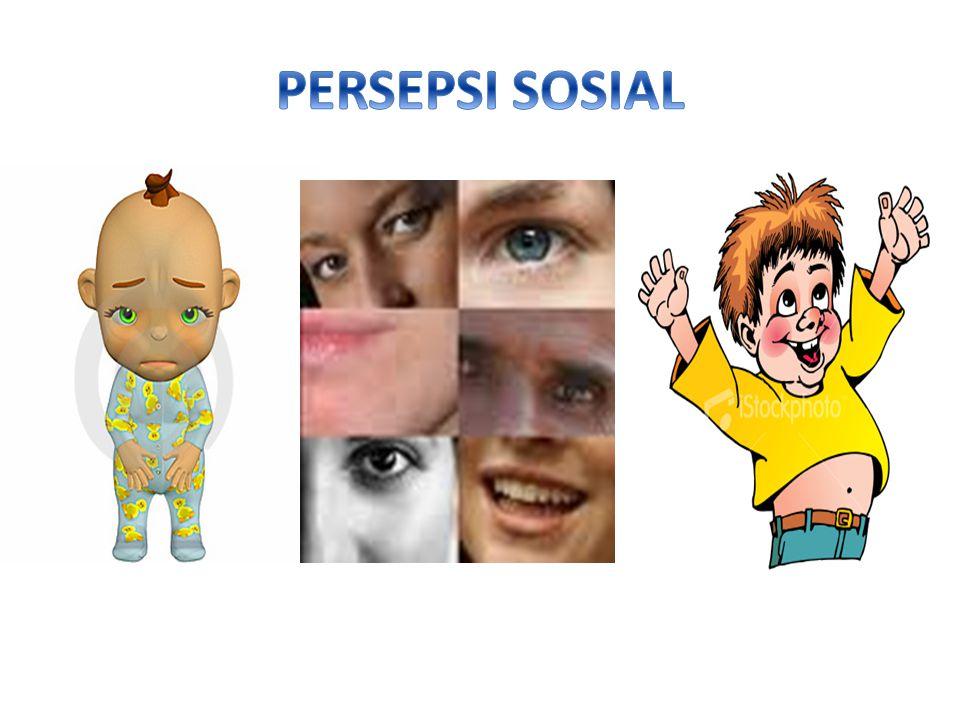 PERSEPSI SOSIAL