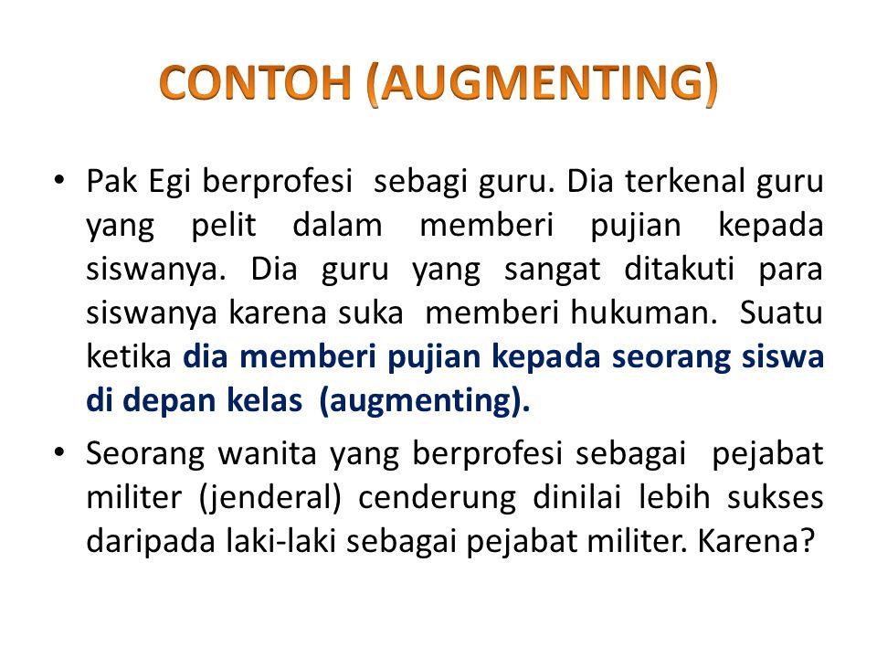 CONTOH (AUGMENTING)