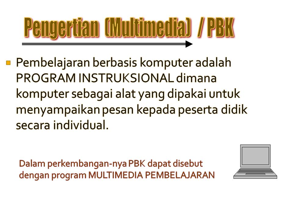 Pengertian (Multimedia) / PBK