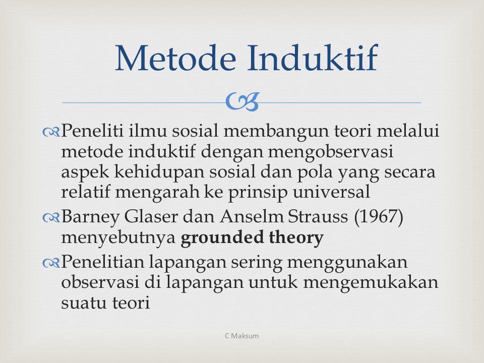 Metode Induktif