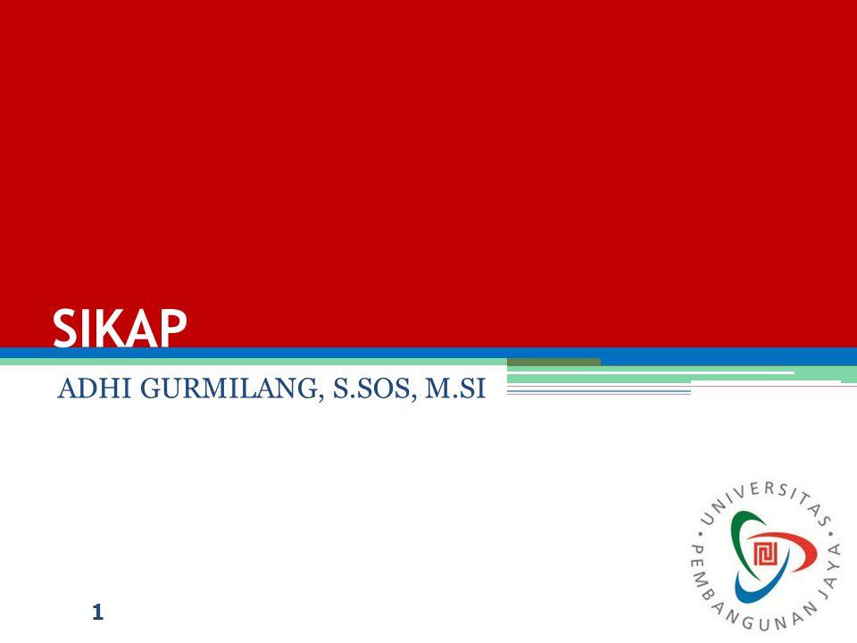ADHI GURMILANG, S.SOS, M.SI