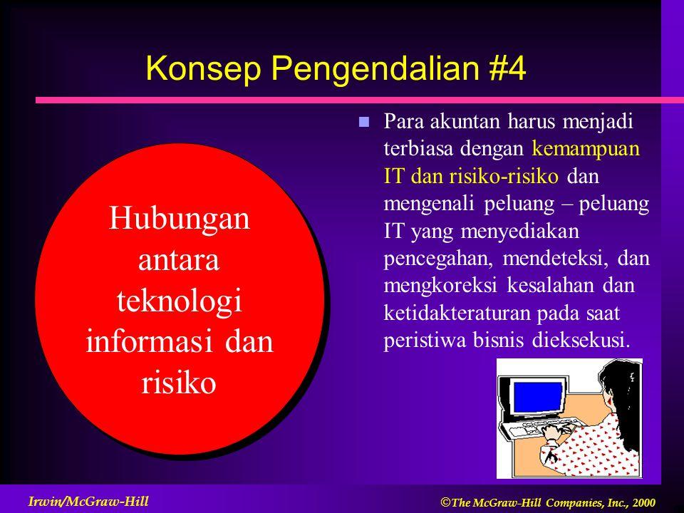 Hubungan antara teknologi informasi dan risiko