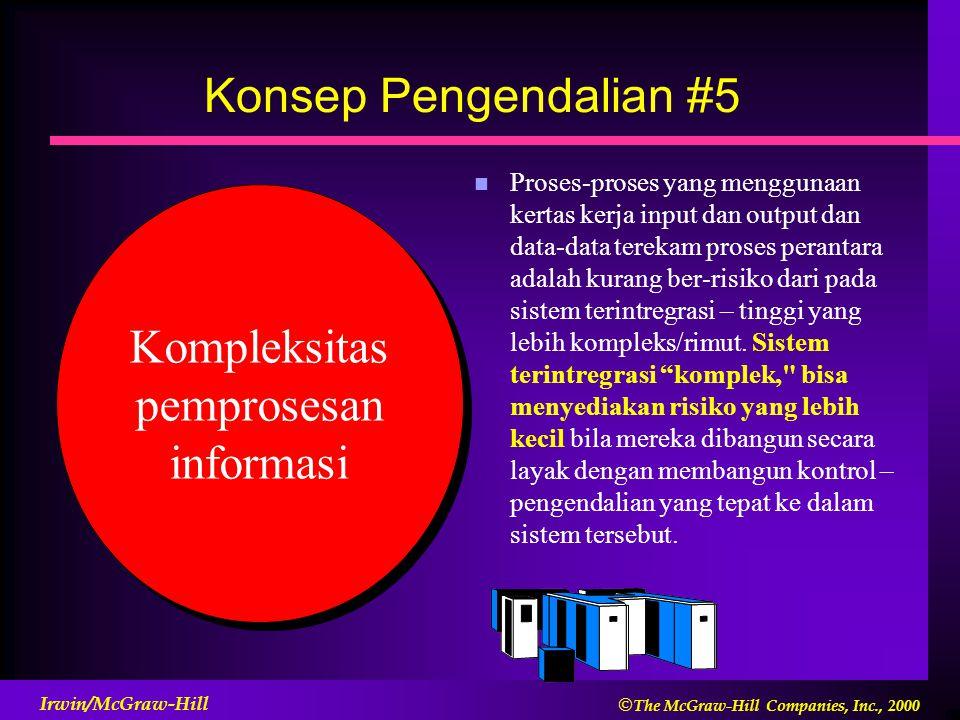 Kompleksitas pemprosesan informasi