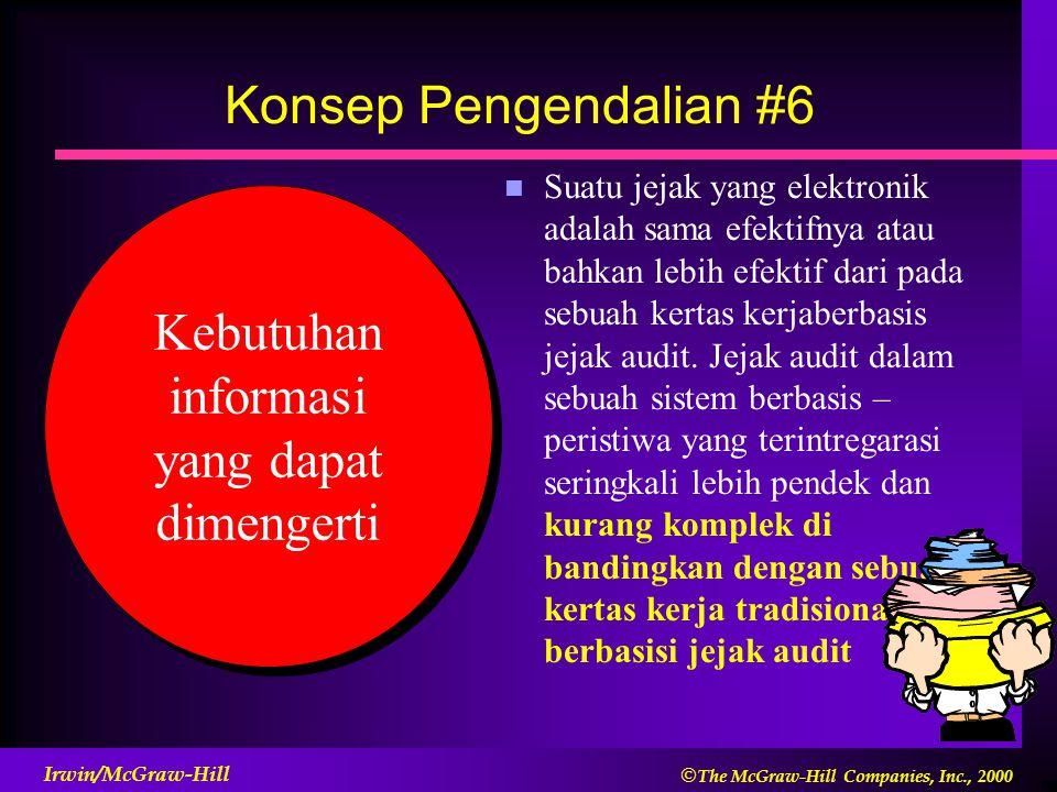 Kebutuhan informasi yang dapat dimengerti