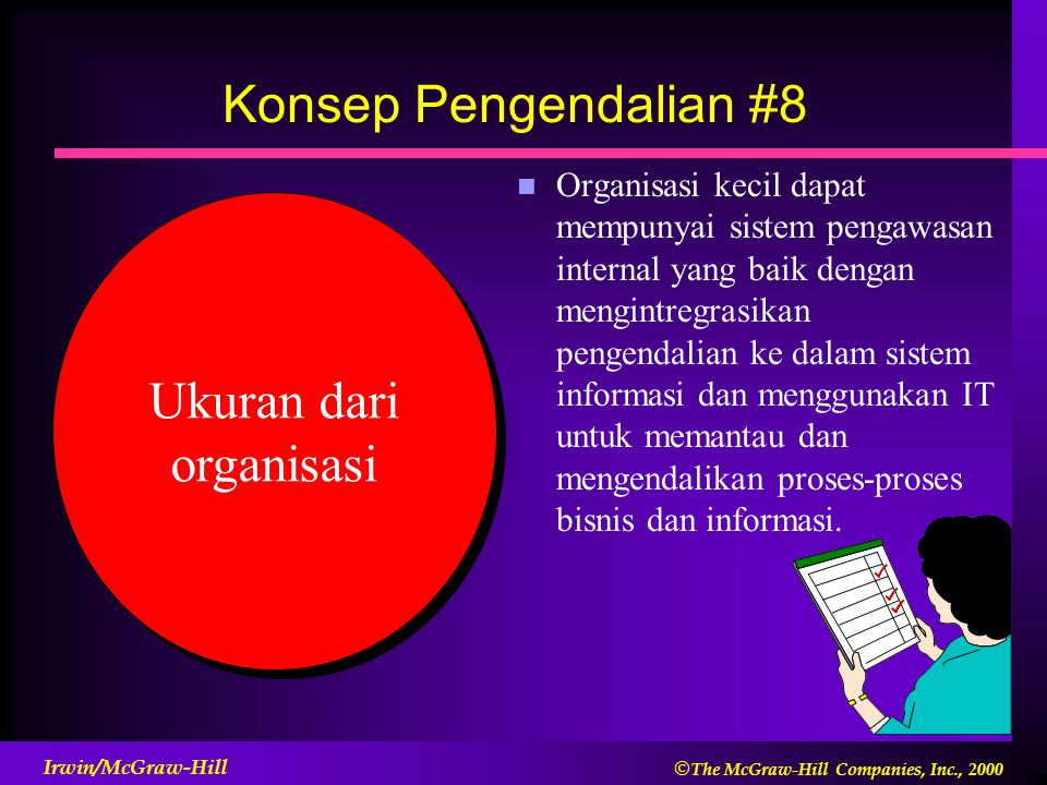 Ukuran dari organisasi