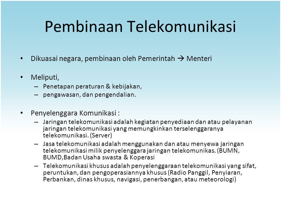 Pembinaan Telekomunikasi