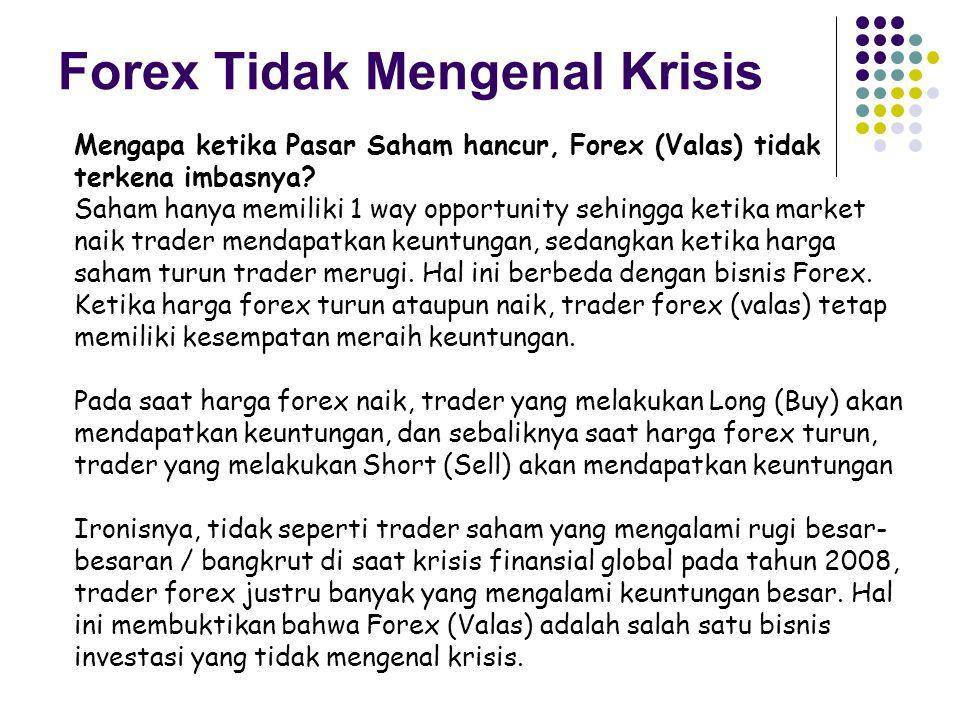 Forex Tidak Mengenal Krisis