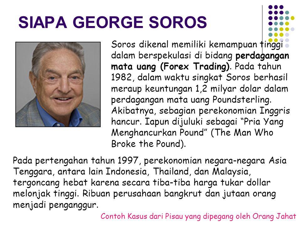 SIAPA GEORGE SOROS