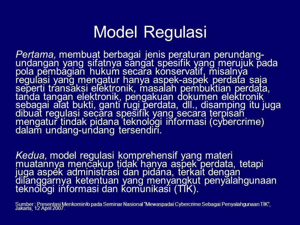 Model Regulasi