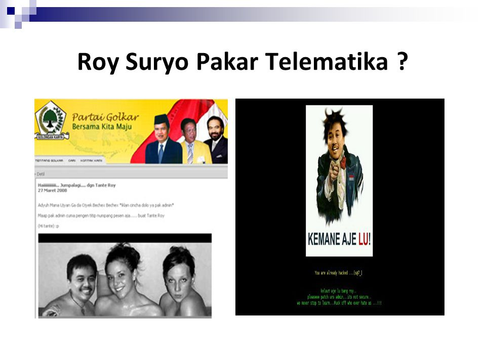 Roy Suryo Pakar Telematika