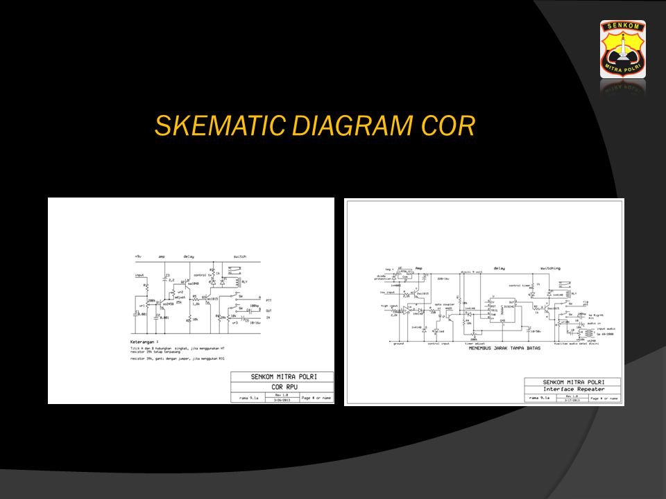 SKEMATIC DIAGRAM COR