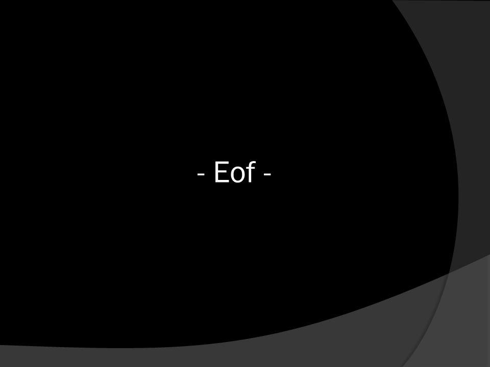 - Eof -