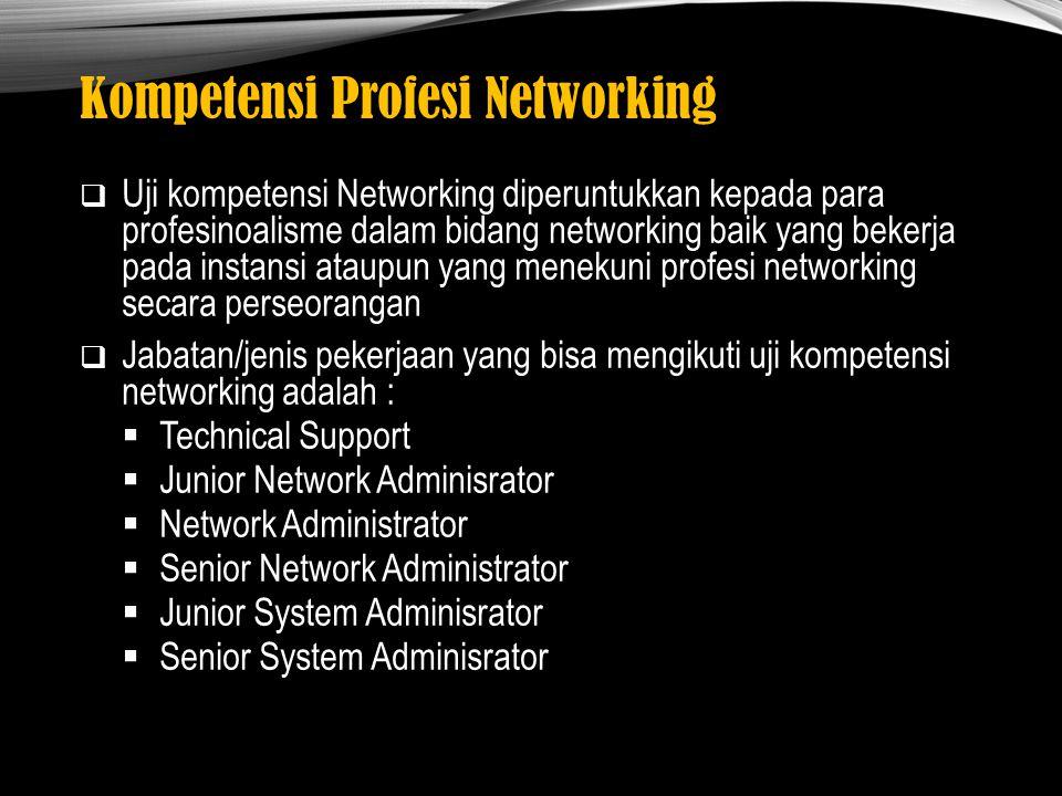 Kompetensi Profesi Networking