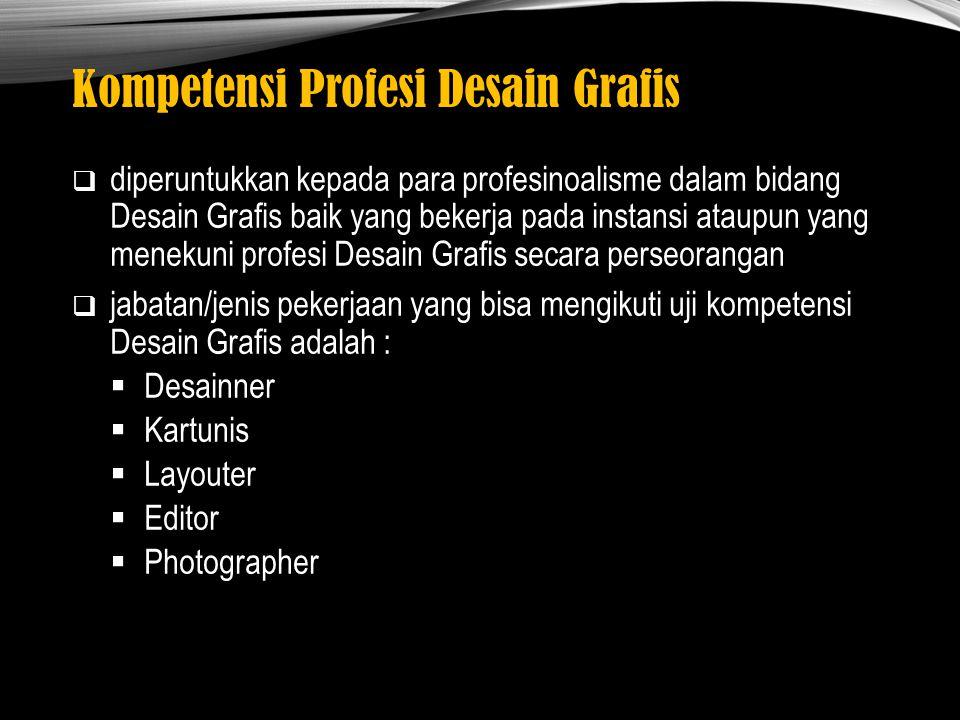 Kompetensi Profesi Desain Grafis