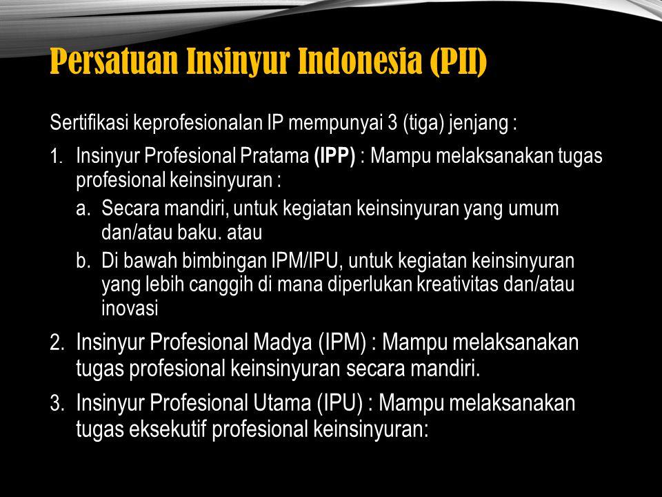 Persatuan Insinyur Indonesia (PII)