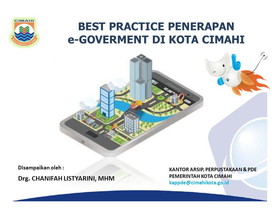 BEST PRACTICE PENERAPAN e-GOVERMENT DI KOTA CIMAHI