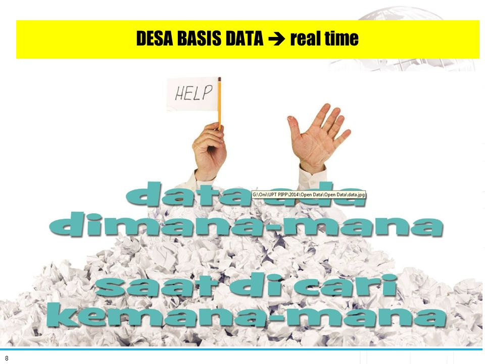 DESA BASIS DATA  real time