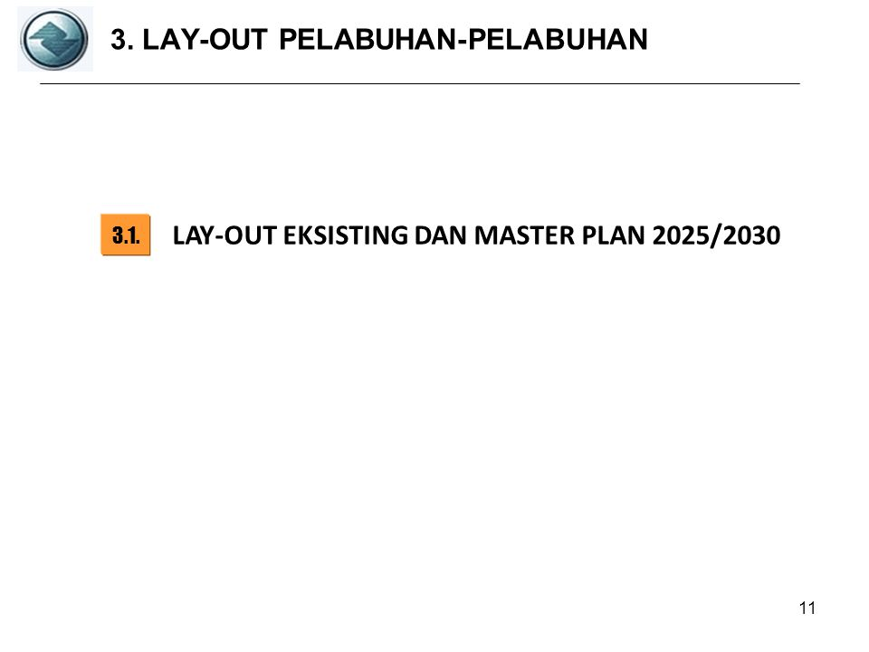 3. LAY-OUT PELABUHAN-PELABUHAN