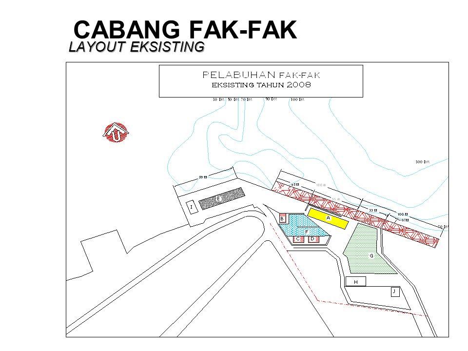 CABANG FAK-FAK LAYOUT EKSISTING