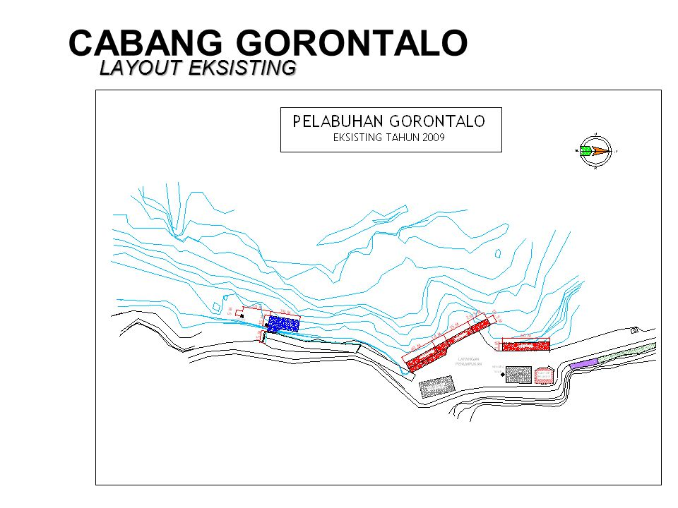 CABANG GORONTALO LAYOUT EKSISTING