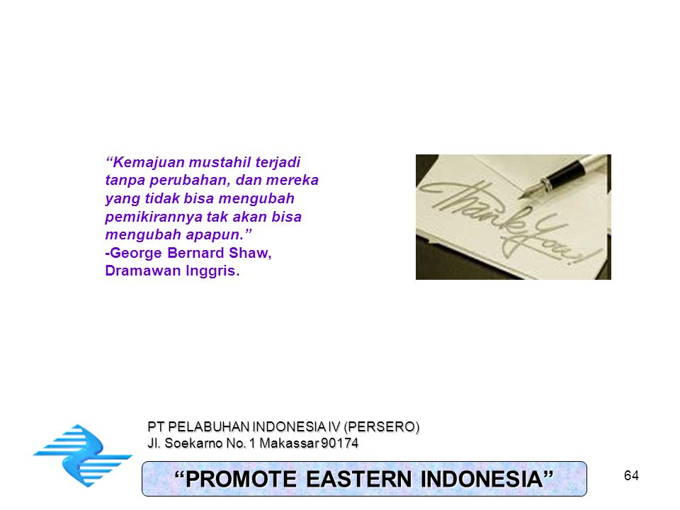 PROMOTE EASTERN INDONESIA
