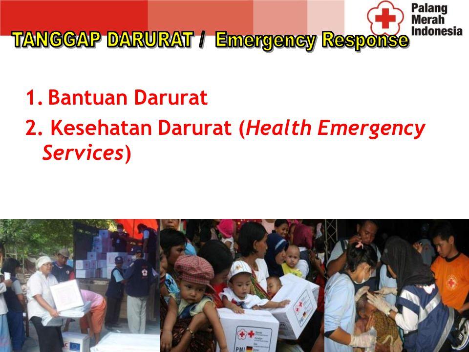 TANGGAP DARURAT / Emergency Response