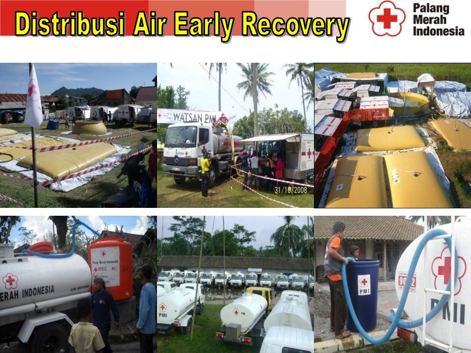 Distribusi Air Early Recovery