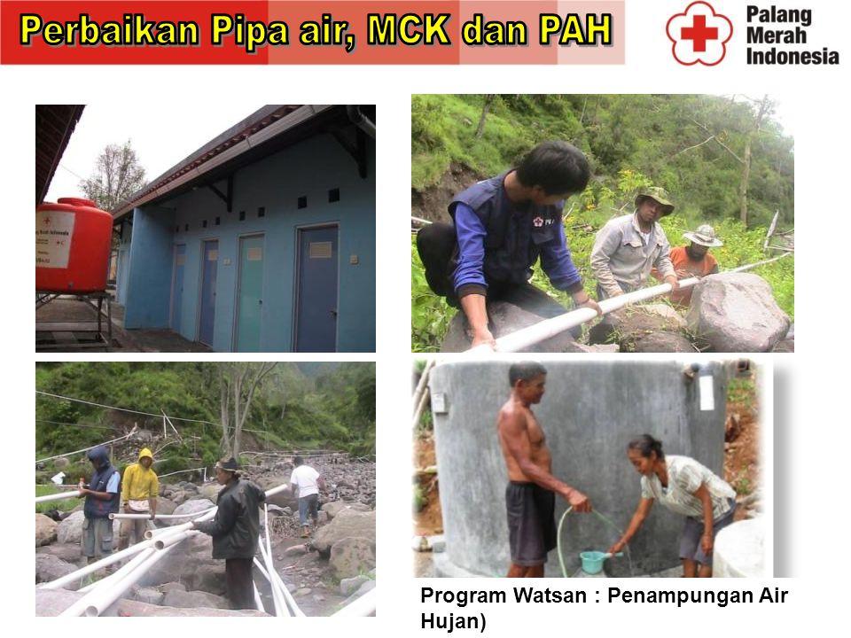 Perbaikan Pipa air, MCK dan PAH