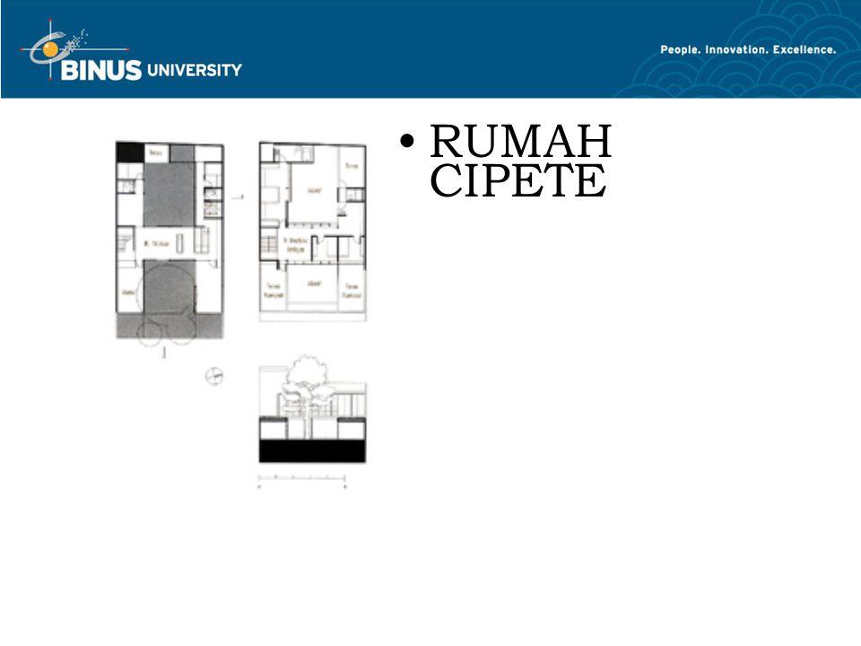 RUMAH CIPETE