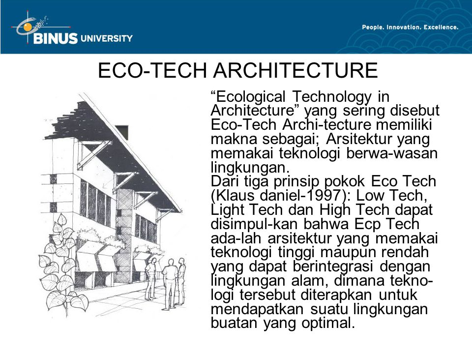 ECO-TECH ARCHITECTURE