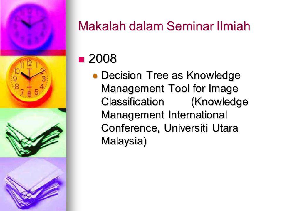 Makalah dalam Seminar Ilmiah