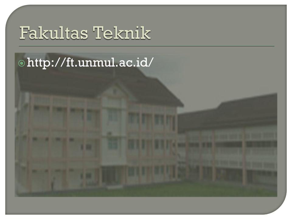 Fakultas Teknik http://ft.unmul.ac.id/