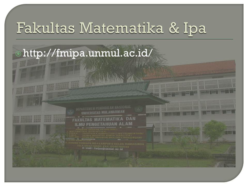 Fakultas Matematika & Ipa